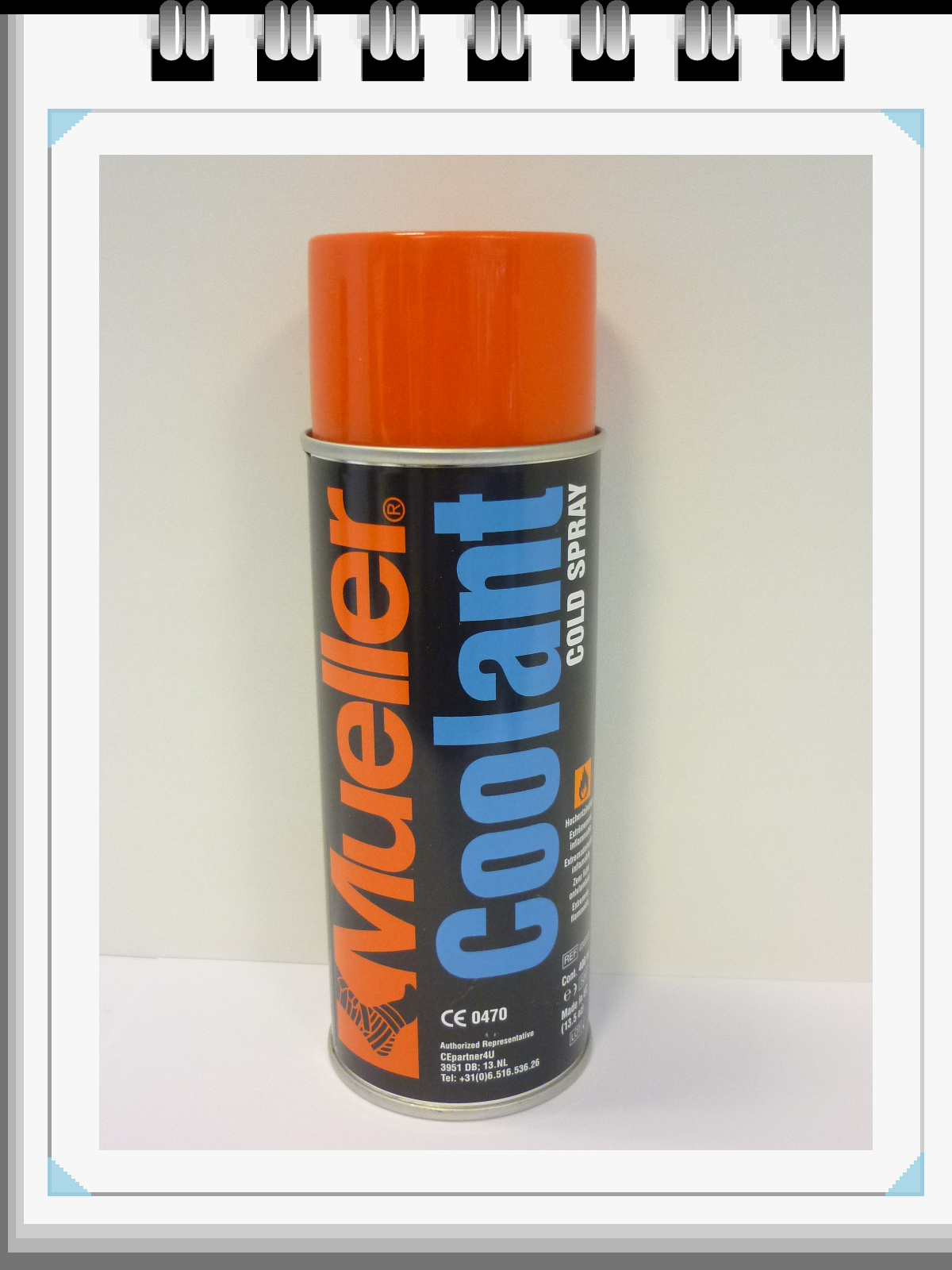 Koudespray: Cold Spray, Mueller, 400ml