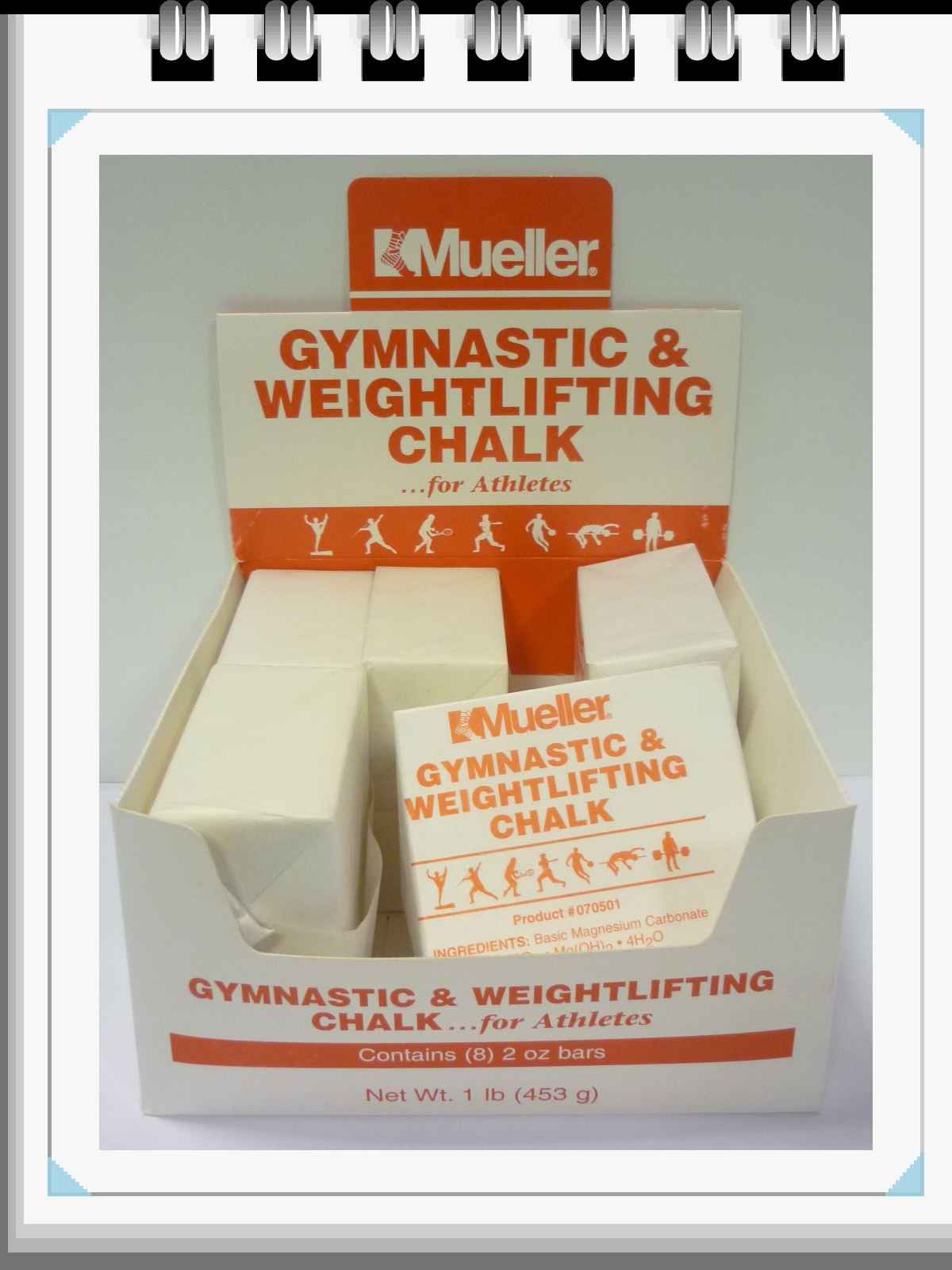 Mueller - Gymnastic-weightlifting Chalk Shake
