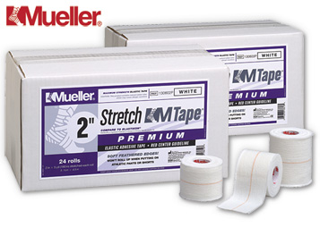 ALLproducts Elastische tape: Mueller Stretch M Tape, 5cm, p--24 rollen