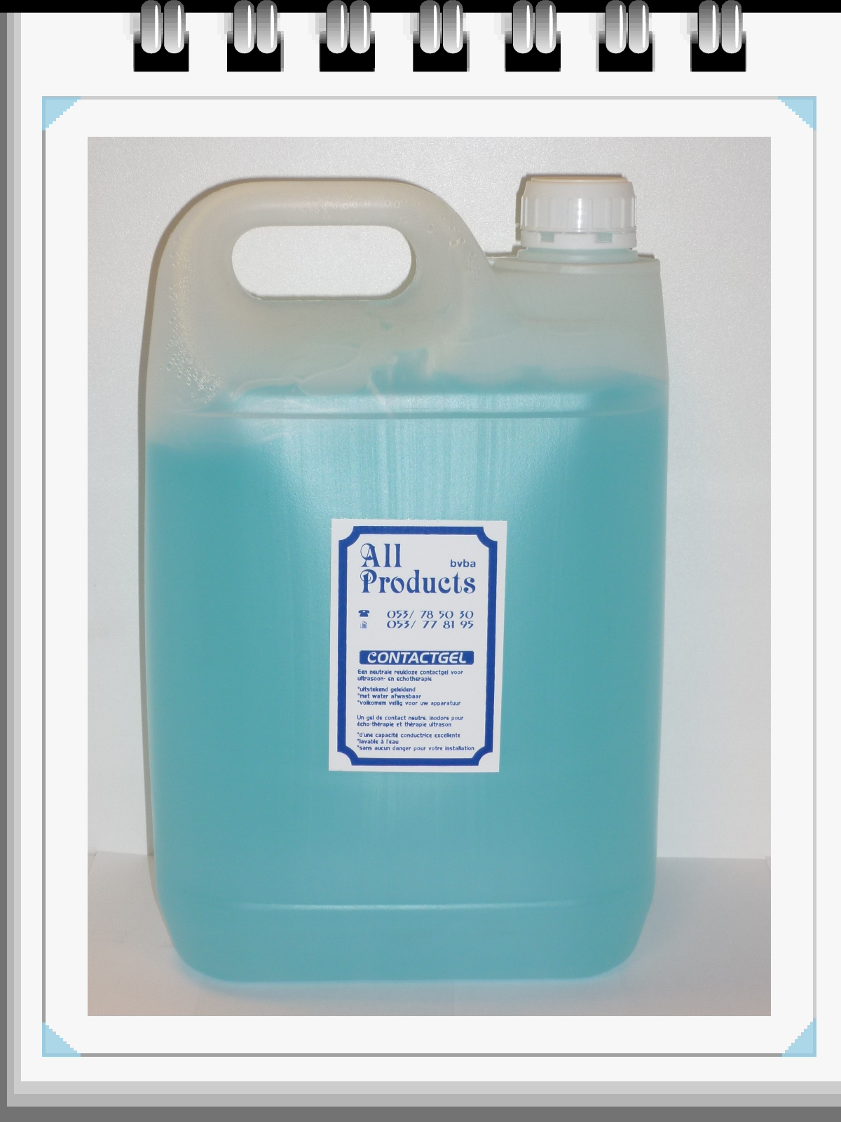 All Products - Ultrason Gel 5 Liter