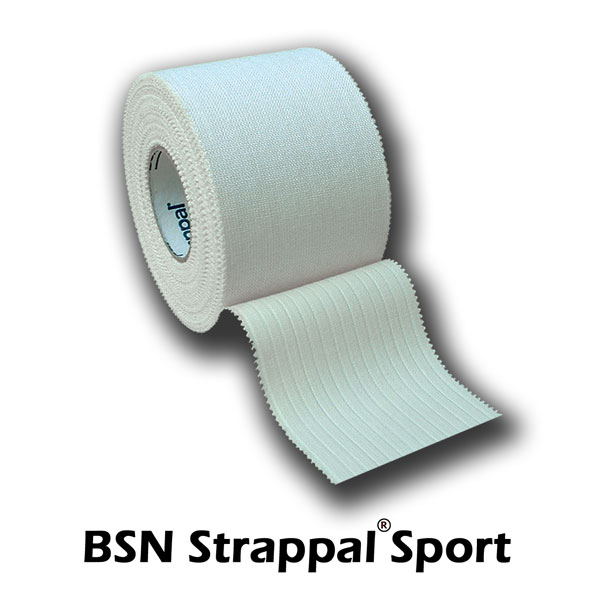 ALLproducts Rigide tape: Strappal Sport, 2,5cmx10m, p--36