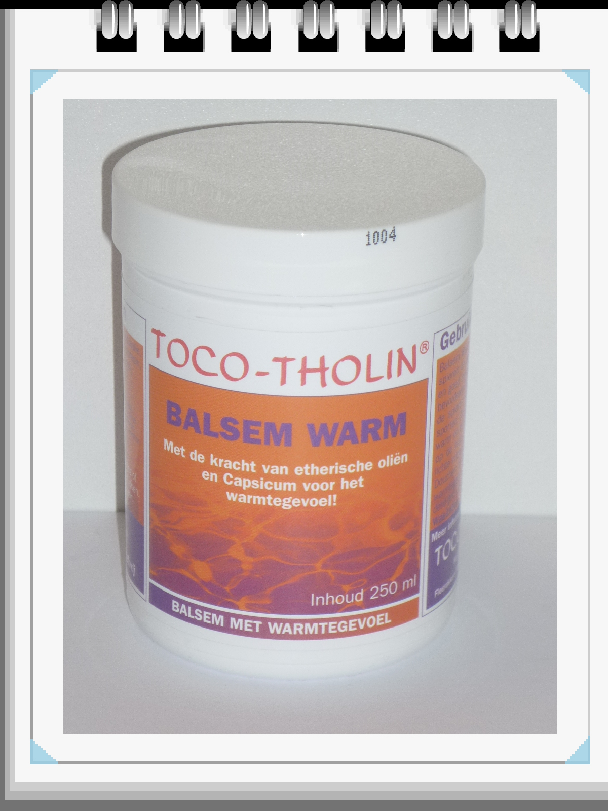 Toco Tholin - Toco Tholin Balsem Warm 250ml