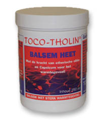 ALLproducts Toco Tholin Balsem Heet 250ml