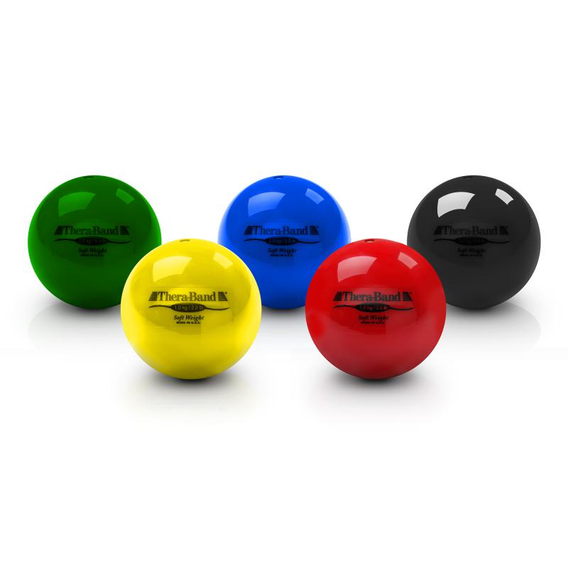 Soft Weights Thera-band ballenset van 6 ( 10,5kg )