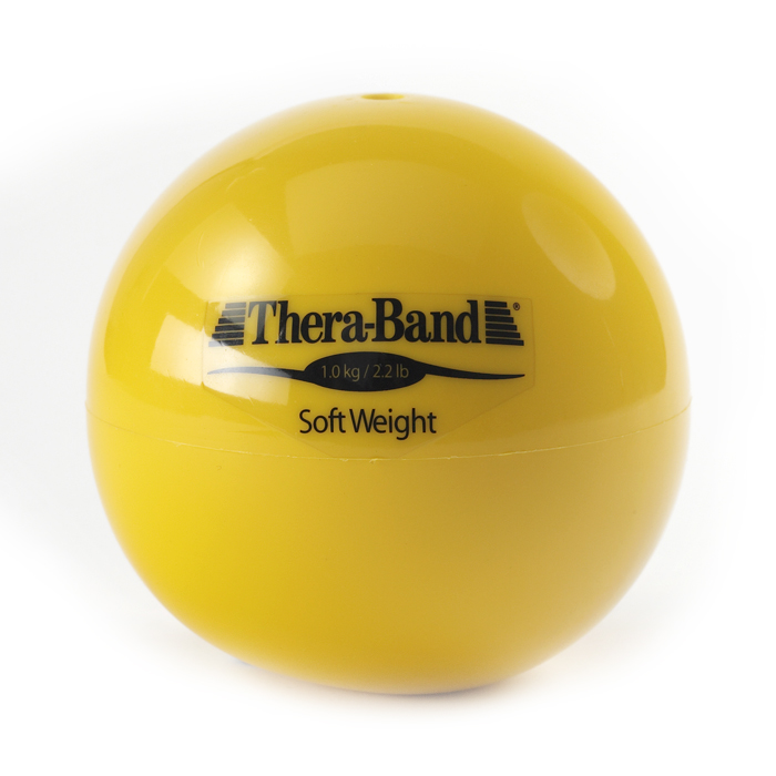 Soft Weights Thera-band bal geel 1 kg