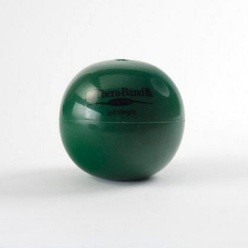 Soft Weights Thera-band bal groen 2 kg
