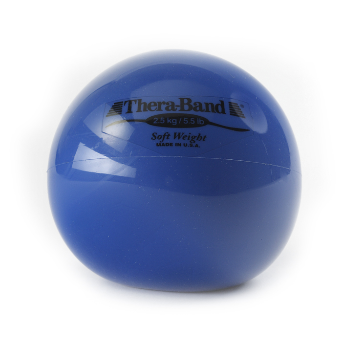 Soft Weights Thera-band bal blauw 2,5 kg