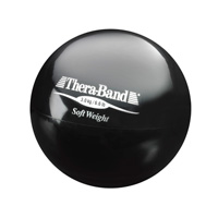 Soft Weights Thera-band bal zwart 3 kg