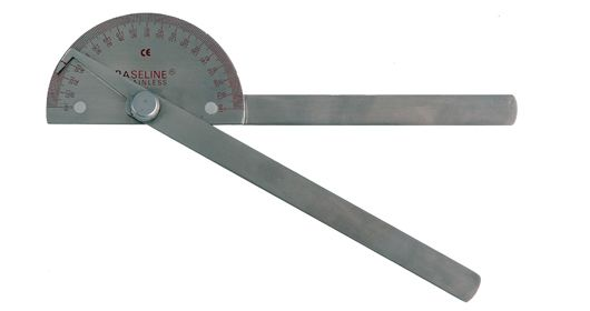 All Products - goniometer stainless steel - 20cm