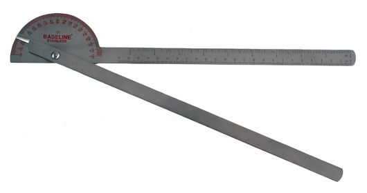 All Products - goniometer stainless steel - 35 cm