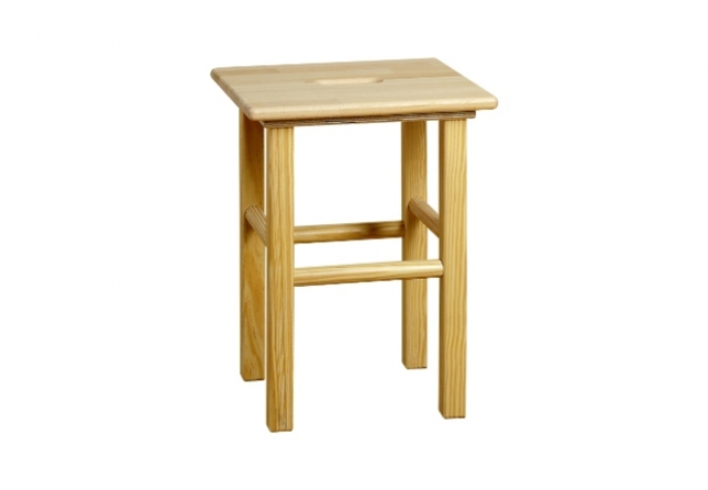 All Products - Tabouret, met handvat in zitvlak