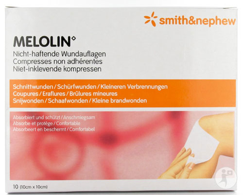 BSN medical - Stellaline-melolin 10x10cm P--100