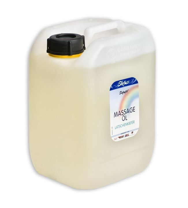 ALLproducts Sixtus massageolie neutraal 5 liter