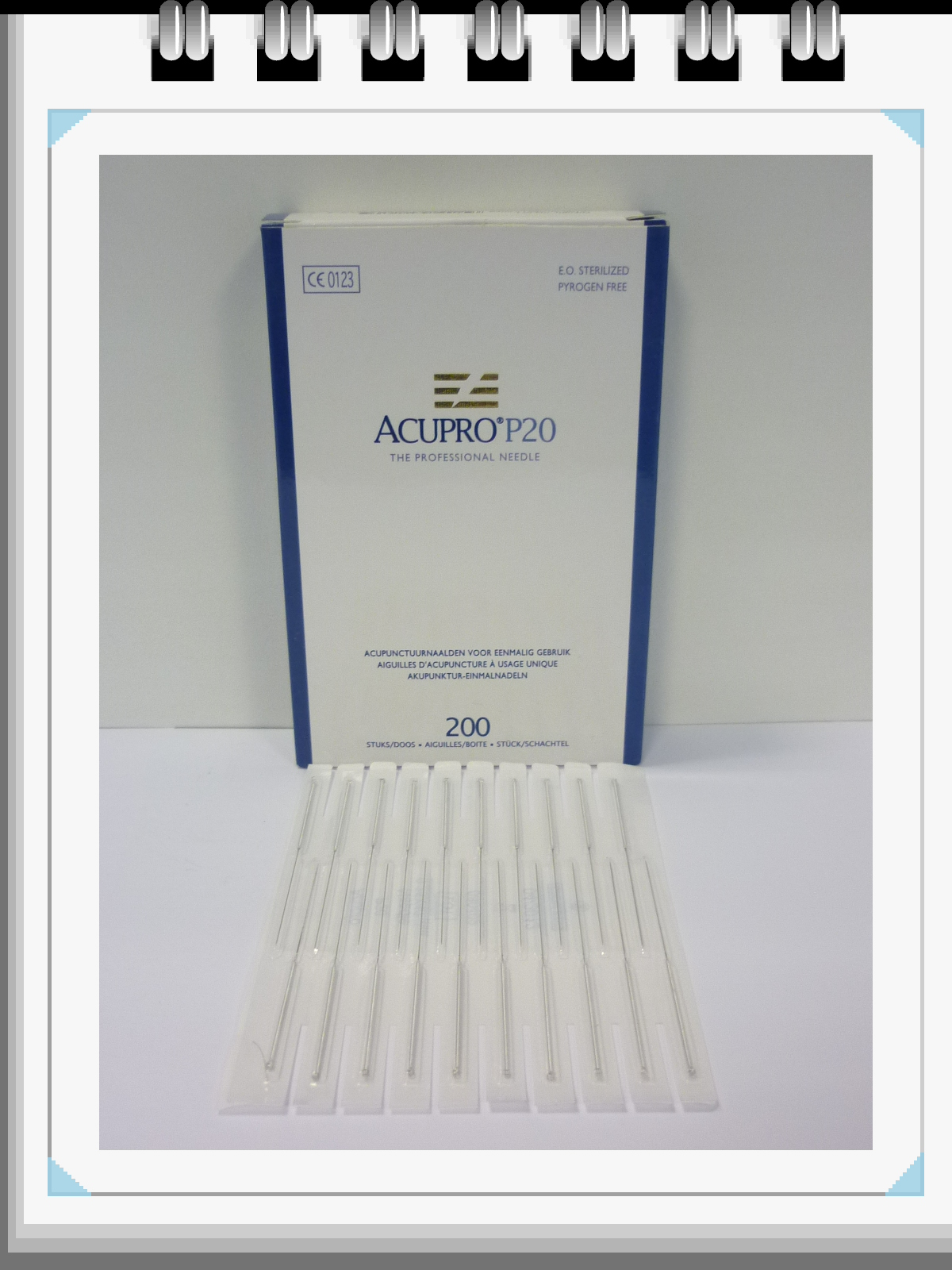 All Products - Acupunctuurnaalden: 0,20 x 40mm, p--200