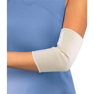 Mueller - Mueller Elastic elbow support - beige - medium (26-29cm)