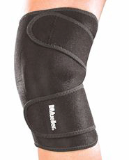 Mueller - Knee Support Closed Patella Zwart