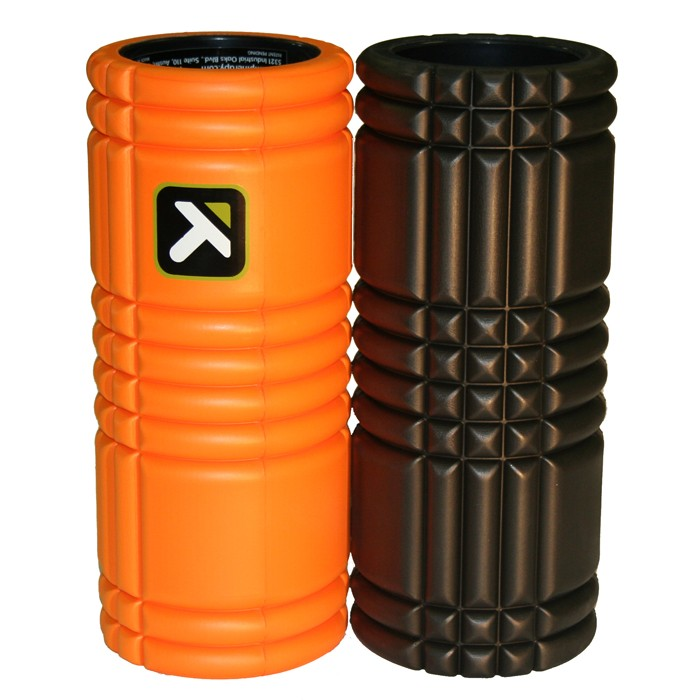 The Grid / Triggerpoint - The Grid Foam Roller - zwart - 33 x 12,7cm