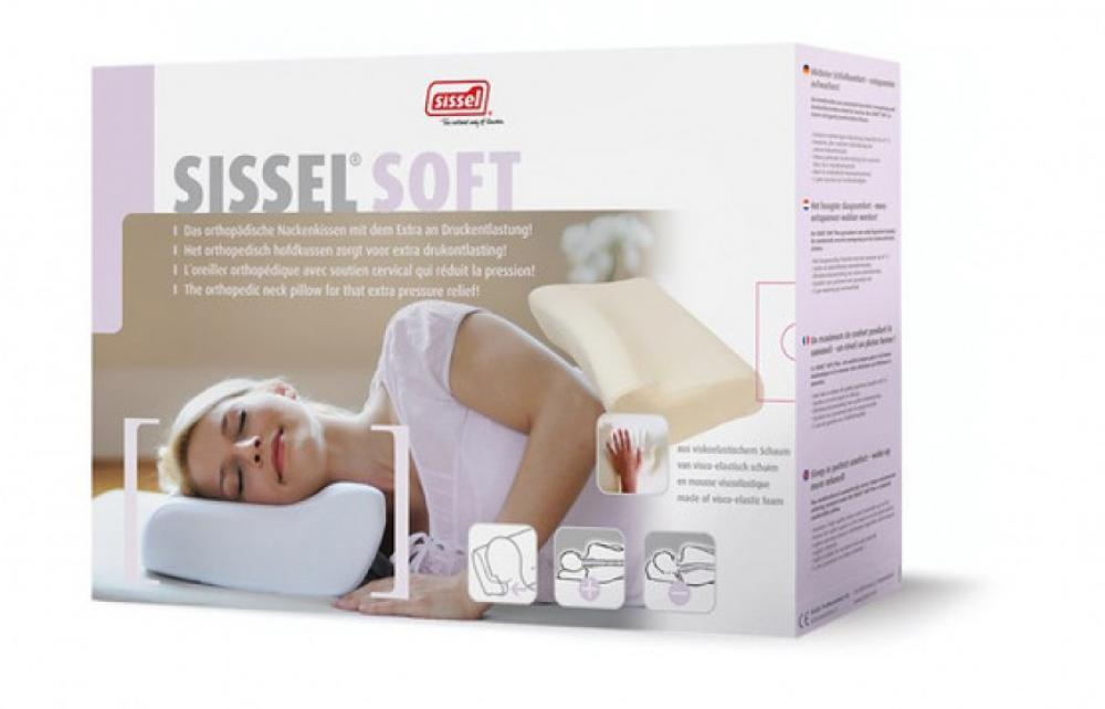 ALLproducts Sissel - Othopedic Pillow soft - large + overtrek