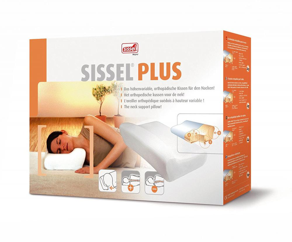 ALLproducts Sissel - Orthopedic Pillow Plus + overtrek