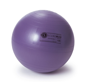 Sissel - Securemax exercise ball - zitbal - 45cm - lila