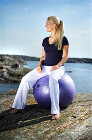 Sissel - Securemax exercise ball - zitbal - 75cm - lila