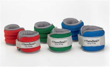 Thera-Band - Theraband ankle wrist weights set - rood - 0,5kg - p--2