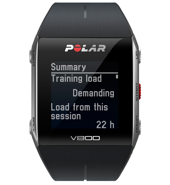 Polar - Polar V800 HR - black