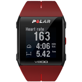 Polar - Polar V800 HR - red