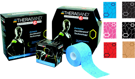 ALLproducts Kinesiology cramer tape 5cm x 31.40m noir--gris