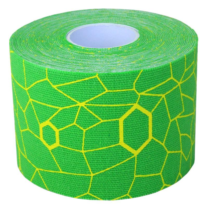 ALLproducts Kinesiology cramer tape 5cm x 5m retail P--24 groen--geel