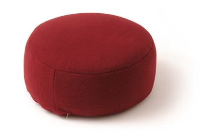Sissel - Sissel - Yoga Relax Cushion - overtrek bordeaux