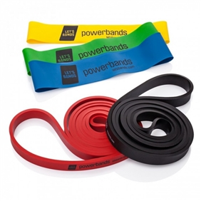 ALLproducts Lets bands set Pro mini jaune--vert--bleu + max bleu + vert