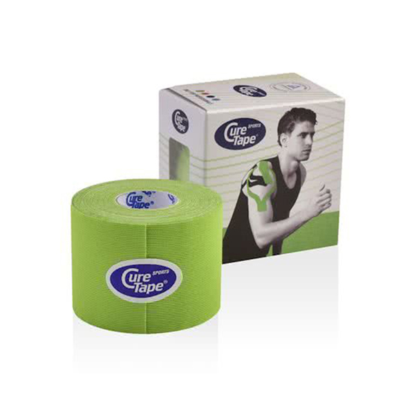 Cure tape - Cure Tape sports lime 5cm x 5m - p--1
