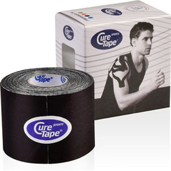 Cure tape - Cure Tape sports black 5cm x 5m - p--1