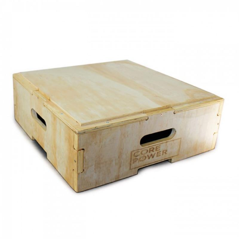 Stroops - Plyo Box hout 20cm