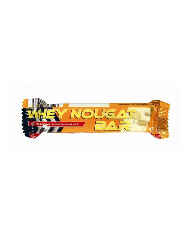SportiMAXX - Sporti--MAXX Whey Nougat Bar 40x40g Enriched with whey protee