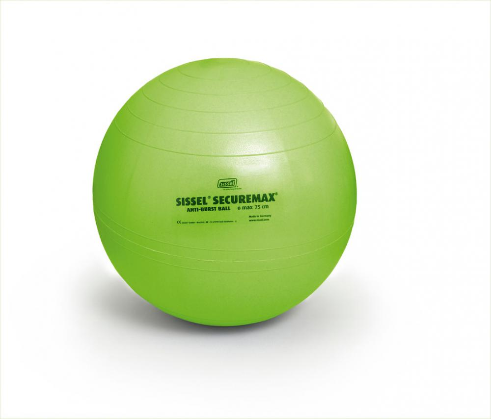 Sissel - Securemax exercise ball - zitbal - 75cm  - limoengroen