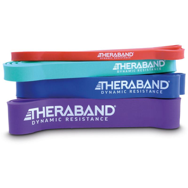 theraband high resistance band set – 4 resistance bands